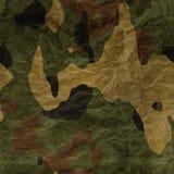 Sömlös textur för kamouflagetyg Royaltyfri Fotografi