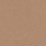 Sömlös textur för kraft papper, återanvänd papptappningstil Arkivbild