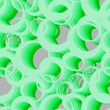 Sömlös textur med cirklar Royaltyfria Bilder