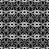 Sömlös textur med cirklar abstrakt bakgrund Royaltyfria Bilder