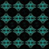 Sömlös textur med cirklar abstrakt bakgrund Royaltyfri Bild