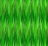 Sömlös textur med grönt gräs lawn royaltyfri illustrationer