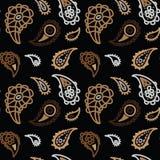 Sömlös textur med gurkan Royaltyfri Fotografi