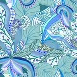 Sömlös textur med utsmyckade bär Royaltyfri Bild