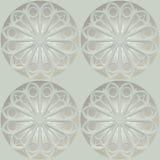 Sömlös textur som baseras på sakral geometri royaltyfri fotografi