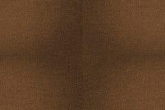 Sömlös texturbakgrund för brunt tyg Fotografering för Bildbyråer