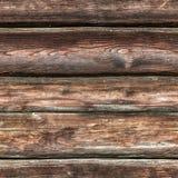 SÖMLÖS träbakgrund för mörk brunt Arkivfoton