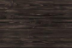 SÖMLÖS trägammal plankabakgrund för mörk brunt Trä texturerar Fotografering för Bildbyråer