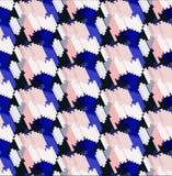 Sömlös trendig geometrisk modell royaltyfri bild