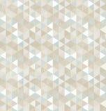 Sömlös triangelmodell, bakgrund, textur royaltyfri illustrationer