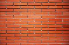 Sömlös vägg för röd tegelsten Fotografering för Bildbyråer