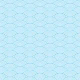 Sömlös vågabstrakt begreppmodell Arkivfoto