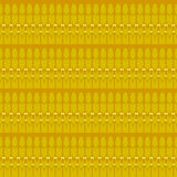 Sömlös vanlig brunt för gul ockra för ellipsmodell Royaltyfri Foto