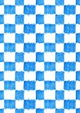 Sömlös vattenfärg för tartan för modellblåttfyrkant Fotografering för Bildbyråer