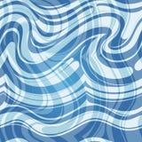 Sömlös vattenmodell Arkivfoto