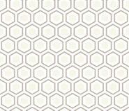 Sömlös vektor för modell för antracitgrå färghonungskaka Arkivbilder