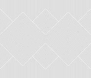 Sömlös vektormodell med band Royaltyfri Bild
