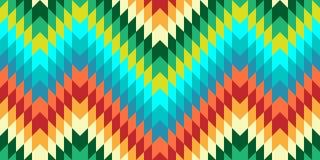 Sömlös vektorsparremodell för textildesign Royaltyfri Fotografi