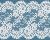 Sömlös vektorvit snör åt Royaltyfri Bild