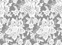 Sömlös vektorvit snör åt Royaltyfria Bilder