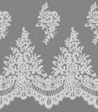 Sömlös vektorvit snör åt modellen Fotografering för Bildbyråer