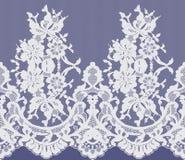 Sömlös vektorvit snör åt modellen Royaltyfri Fotografi