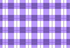 Sömlös violett tartan för vektor, tartanmodell Fotografering för Bildbyråer