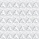Sömlös vit geometrisk textur - Royaltyfri Fotografi