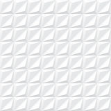 Sömlös vit geometrisk textur - Arkivbilder