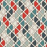 Sömlös yttersidamodell med brandsymboler Modernt tryck med upprepade spurter av flamman abstrakt bakgrund Royaltyfria Foton