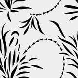 Sömlösa abstrakt begreppväxter Arkivfoton