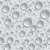 Sömlösa bakgrundsdroppar av vatten Fotografering för Bildbyråer