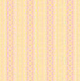 Sömlösa band och diamantmodellen gulnar den rosa violeten Royaltyfria Bilder