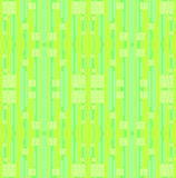 Sömlösa band och fyrkanter mönstrar den citronlimefruktgräsplan och mintkaramellen Royaltyfri Foto