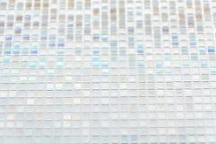 Sömlösa blåa glass tegelplattor texturerar bakgrund, fönstret, kök eller Royaltyfri Fotografi