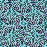 Sömlösa cirklar för bakgrundsvektorfärg Sammansättning av geometriska former ljusa trendiga färger, blått vektor illustrationer