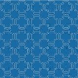 Sömlösa geometriska linjer modell för vektor Royaltyfri Foto
