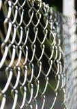 Sömlösa grå färger binder barriären, symbol av egenskapen och skydd Royaltyfria Bilder