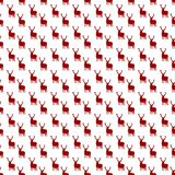 Sömlösa julmodeller med deers Bakgrunder f?r vinterferie vektor illustrationer