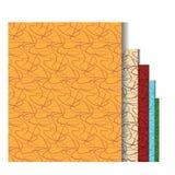 Sömlösa krökta linjer modell Vektor Illustrationer