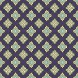 Sömlösa modeller för blå universell vektor som belägger med tegel geometriska prydnadar Royaltyfri Fotografi