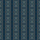 Sömlösa modeller för blå universell vektor som belägger med tegel geometriska prydnadar Fotografering för Bildbyråer