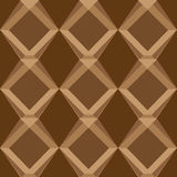 Sömlösa modeller för brun universell vektor som belägger med tegel geometriska prydnadar Royaltyfri Fotografi