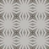 Sömlösa modeller för grå vektor som belägger med tegel geometriska prydnadar Royaltyfri Foto