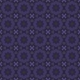 Sömlösa modeller för purpurfärgad universell vektor som belägger med tegel geometriska prydnadar Royaltyfria Bilder