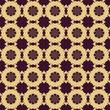 Sömlösa modeller för purpurfärgad universell vektor som belägger med tegel geometriska prydnadar Arkivbilder