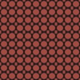 Sömlösa modeller för röd universell vektor som belägger med tegel geometriska prydnadar Royaltyfria Foton