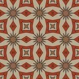 Sömlösa modeller för röd universell vektor som belägger med tegel geometriska prydnadar Royaltyfri Foto