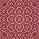 Sömlösa modeller för rosa universell vektor som belägger med tegel geometriska prydnadar Fotografering för Bildbyråer