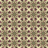 Sömlösa modeller för violett universell vektor som belägger med tegel geometriska prydnadar Royaltyfri Bild